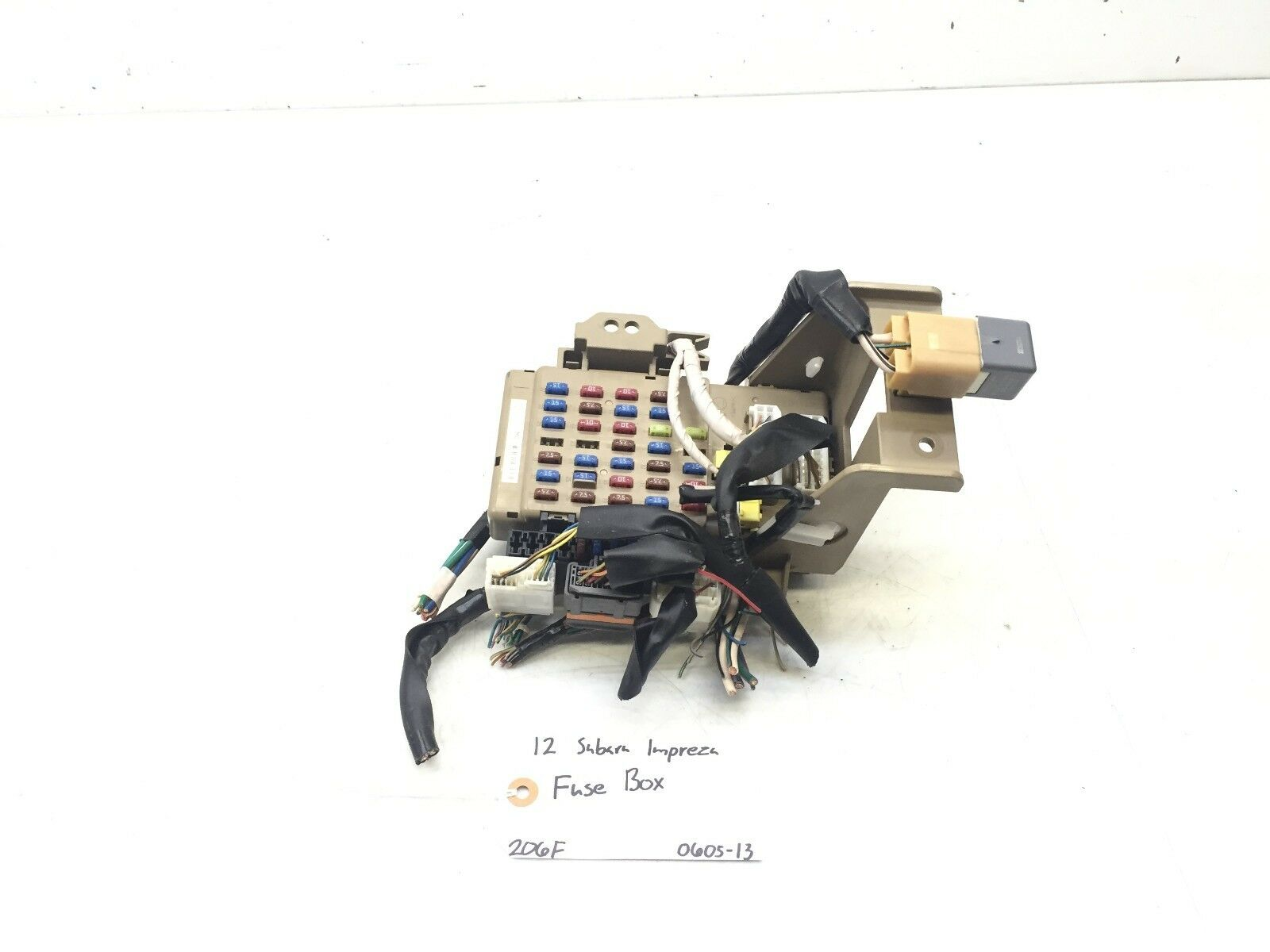 Used Subaru Impreza Electrical Parts For Sale Fuse Box 2012 2014 Cabin Oem 82201fj010