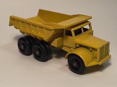 Matchbox Lesney #6 Euclid 10-wheel Quarry Dump Truck, Yellow, Mint Cond