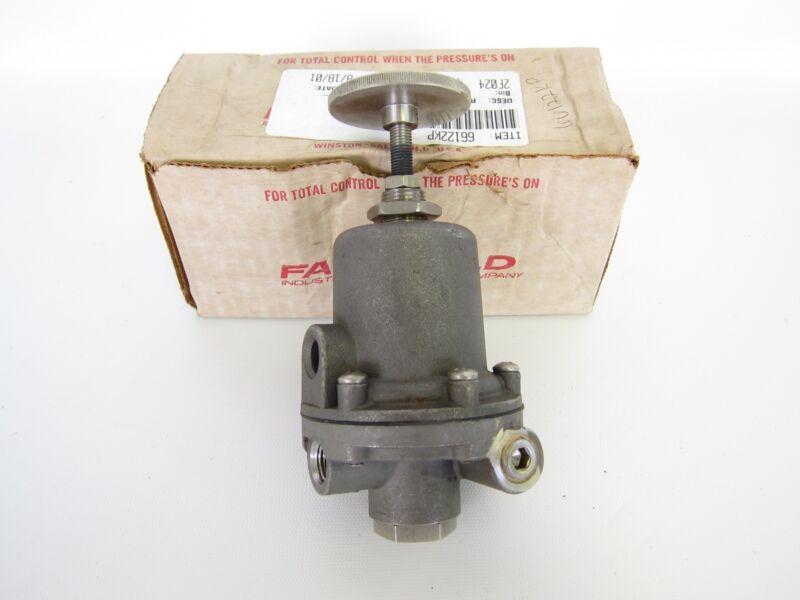 New Fairchild Stainless Steel Pneumatic Pressure Regulator 0-10 PSI 66122 66
