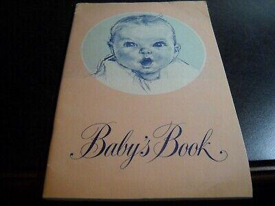 Vintage Gerber Baby's Book 1947