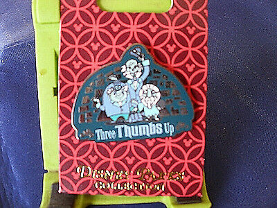 Disney * HAUNTED MANSION GHOSTS - THREE THUMBS UP * New Attraction Trading Pin