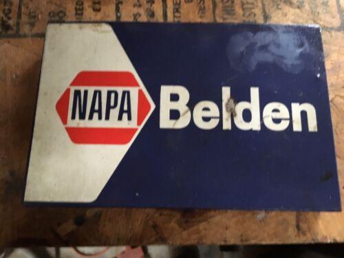 Vintage Napa Belden Car Parts Case