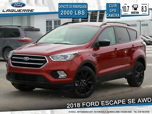 2017 Ford Escape SE LOOK SPORT !!**AWD*CUIR/TISSU*GPS*CAMERA**