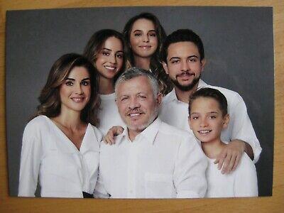 Karte Königin Queen Rania von Jordanien