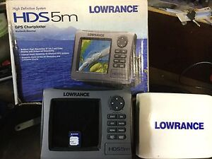 Lowrance HDS5M gps plotter Upper Coomera Gold Coast North Preview