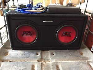 MTX subs and Amp