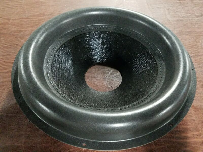 "12"" Big Roll Subwoofer Cone. 3"" Opening, Stitched Surround"