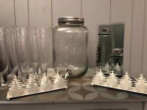 Holiday decor/barware