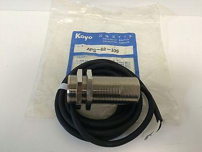 New Old Stock Koyo Capacitive Proximity Sensor Switch Aps-82-10s