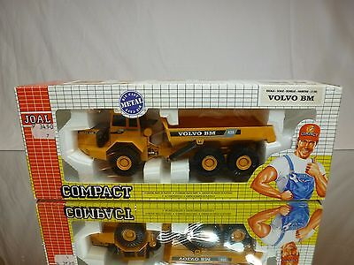 JOAL 238 VOLVO BM A35 6x6 ARTICULATED DUMPTRUCK YELLOW 1:50 GOOD IN BOX