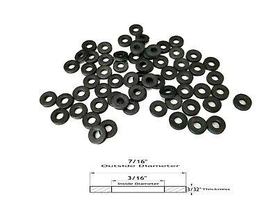 50 neoprene rubber washers 7 16 od