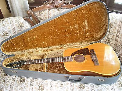 Epiphone 12 String Acoustic (Epiphone FT112 Bard 12 String Acoustic Guitar -1966 )