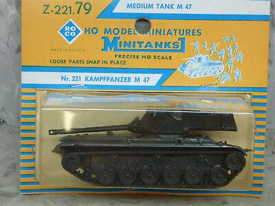 """Herpa Minitanks 741316  Kampfpanzer M47 /""""Patton/"""" 1:87"""