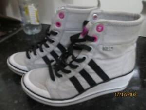 adidas . neo . high heels . womens size 5.5