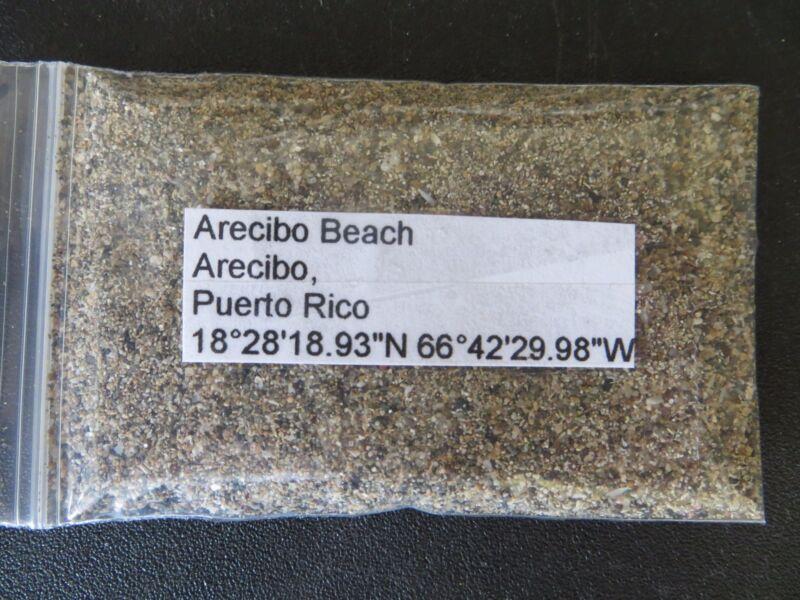 Puerto Rico Arecibo Beach Sand Sample