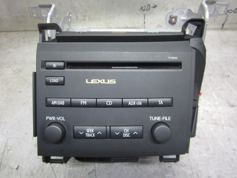 Toyota Lexus CT200H Pioneer Radio CD Cd-Player 86120-76210