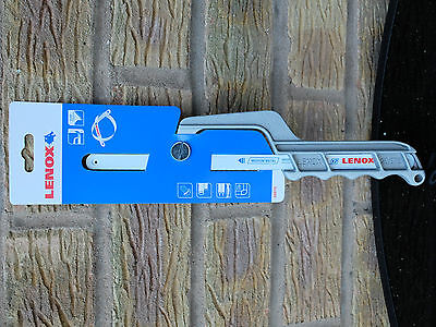 Quarter Saw - Lenox Close Quarter Saw and Mini Hacksaw Frame