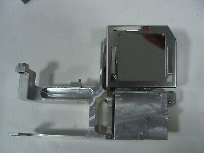 Circular Concave 90 Degree Laser Bounce Mirror W Holder 5 X 7 Inch Mirror 2.5in