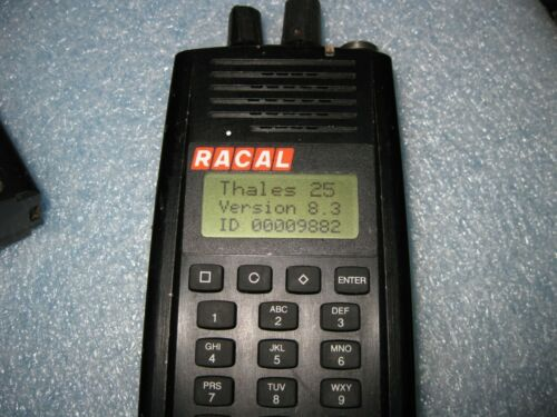 Thales Racal HANDHELD RADIO PRC6894 RACAL25 4101256-503 Radio Body Only