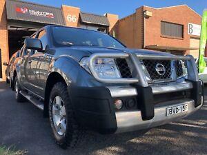 2010 Nissan Navara D40 ST-X 4x4 Turbo Diesel Dual CabUte