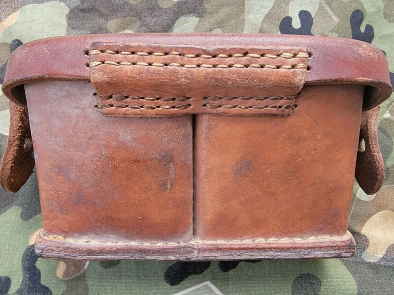 Original WWII Japanese Arisaka front ammo pouch