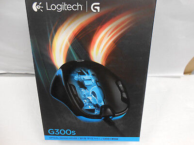 Logitech G300s Optical Gaming Wired Mouse # 910-004360