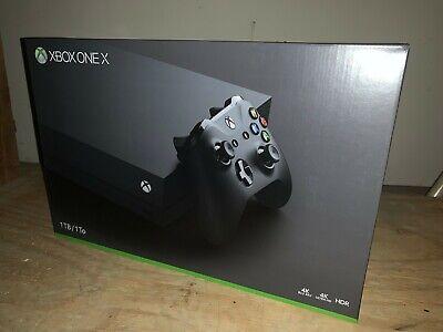 Brand New Sealed Xbox One X 1TB Black Console
