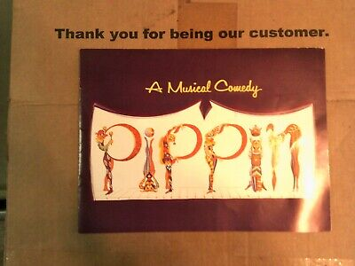 Vintage Pippin A Musical Comedy Program Opened on Broadway in 1972