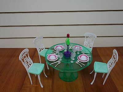 Gloria Doll House Furniture/(2811) My Fancy Life Meal Time