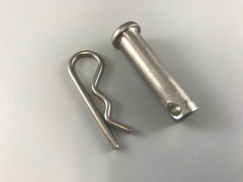 """CLEVIS PIN 1WFF4 316 SS WITH BRIDGE PIN 3/16"""" X 1 1/2"""""""