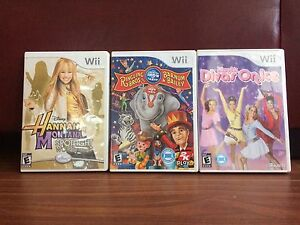 Wii games in perfect condition!