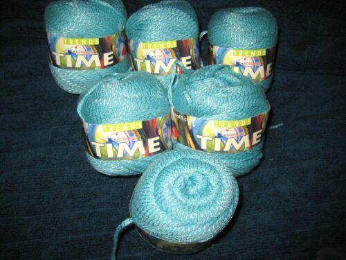 6 Skeins ADRIAFIL TIME Cotton & Viscose Tape Yarn