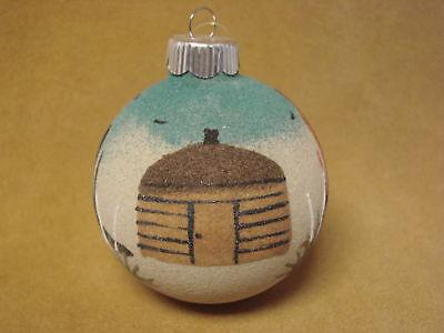 Native American Sandpainting Christmas Ornament! Handmade
