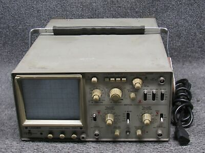 Leader 2-channel 40mhz Oscilloscope Model 1041 Tested Working No Probes