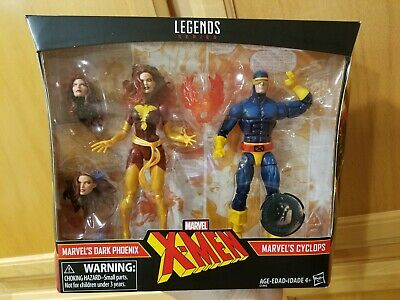 "DARK PHOENIX & CYCLOPS 2-pack Marvel Legends X-Men 6"" TRU Exclusive figures"