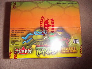 Teenage Mutant Ninja Turtles TMNT 2003 Full Box Series 1 Trading Cards by FLEER
