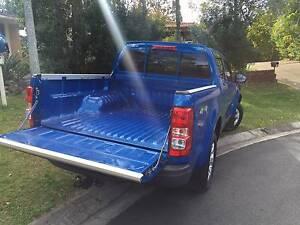 2013 Holden Colorado Ute Oceanic Blue with Bullbar Bundall Gold Coast City Preview