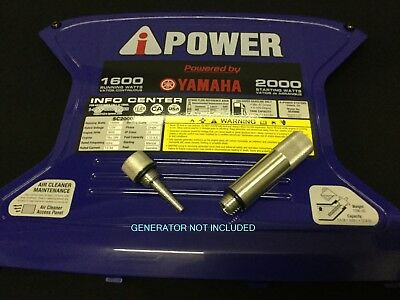 A-ipower Sc2000 Inverter Generator Magnetic Dipstick Oil Fill Drain Tube Combo