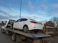 CHEAPEST FLATBED TOWING SERVICE & SCRAP CAR REMOVAL 4038525555