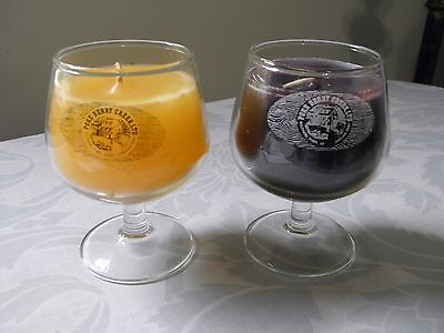 Brandy Glass Scented Candles