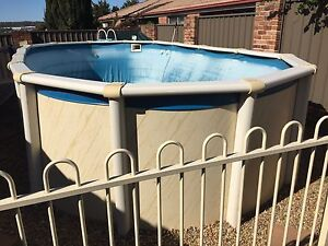 Above ground pool St Andrews Campbelltown Area Preview