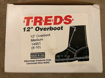 NEW Men/'s NORTH Rubber Overboot Shoe Covers Size L 11-13 USA