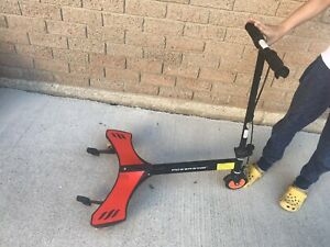 Red Scooter
