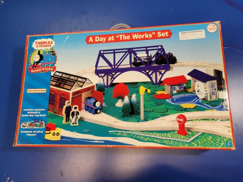 New Thomas & Friends Wooden Railway — Day at the Works (Learning Curve, 2006)
