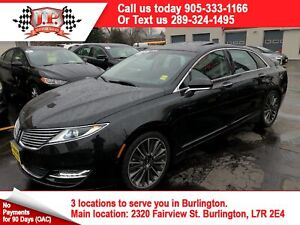 2015 Lincoln MKZ Navigation, Leather, Sunroof, AWD, 49, 000km