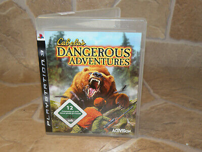 Cabelas Dangerous Adventures  ps3   wie neu