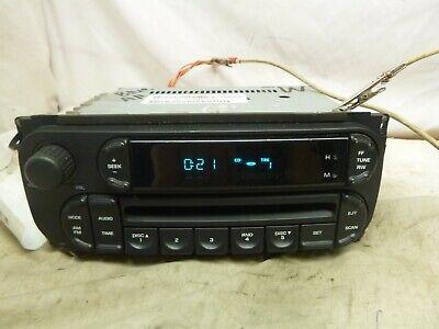 02 03 04 05 06 07 Dodge Chrysler Jeep Radio CD Player P05091506AC DZR36