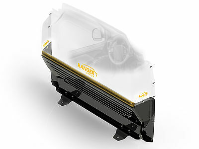 - Ranger Design, 3320-TC, Ford Transit Connect Max View Van Partition,Cllear Upper