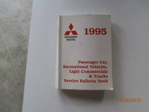 Mitsubishi Service Bulletins 1995 Tarago Goulburn City Preview
