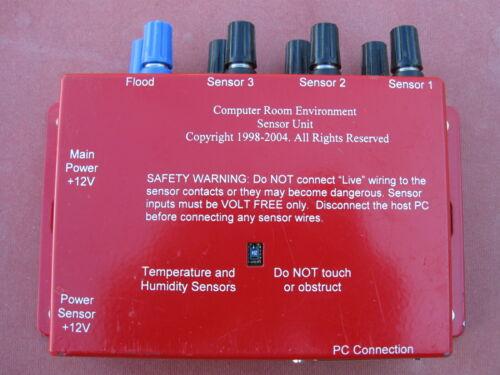 AVTech Room Alert Computer Room Environment Monitor Sensor Unit Monitoring
